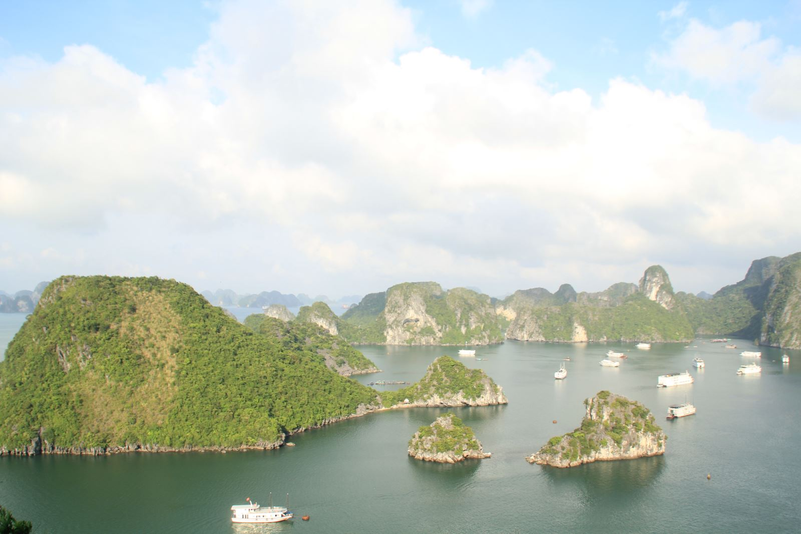 Halong bay view from Titop island