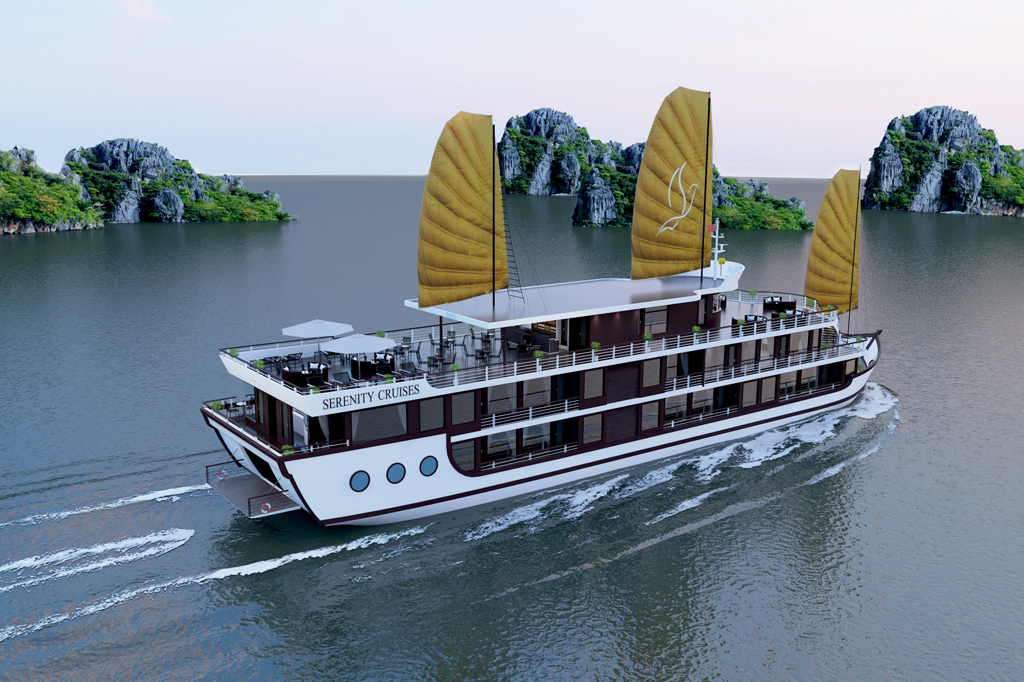 Lan Ha bay luxury cruises