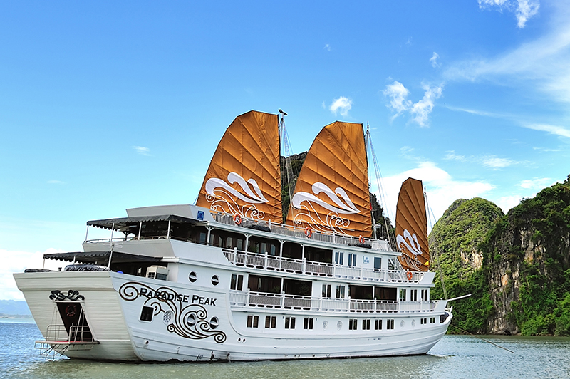Halong Paradise Peak Cruises  Halong Bay Cruise Reviews Amp Package Deals